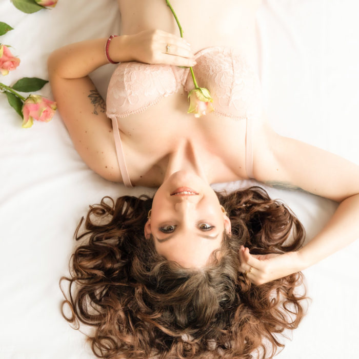 Boudoirfotografie, boudoirshoot, lingerieshoot, roos