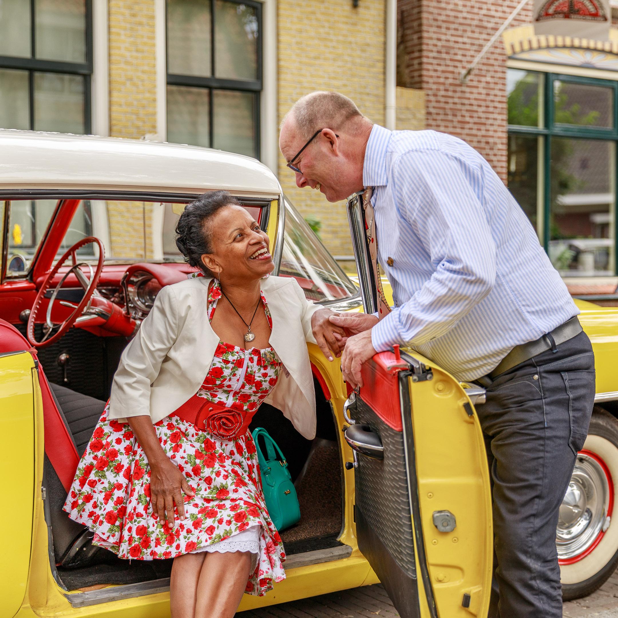 Kleijenco-older couple in love rock&roll festival Terschelling