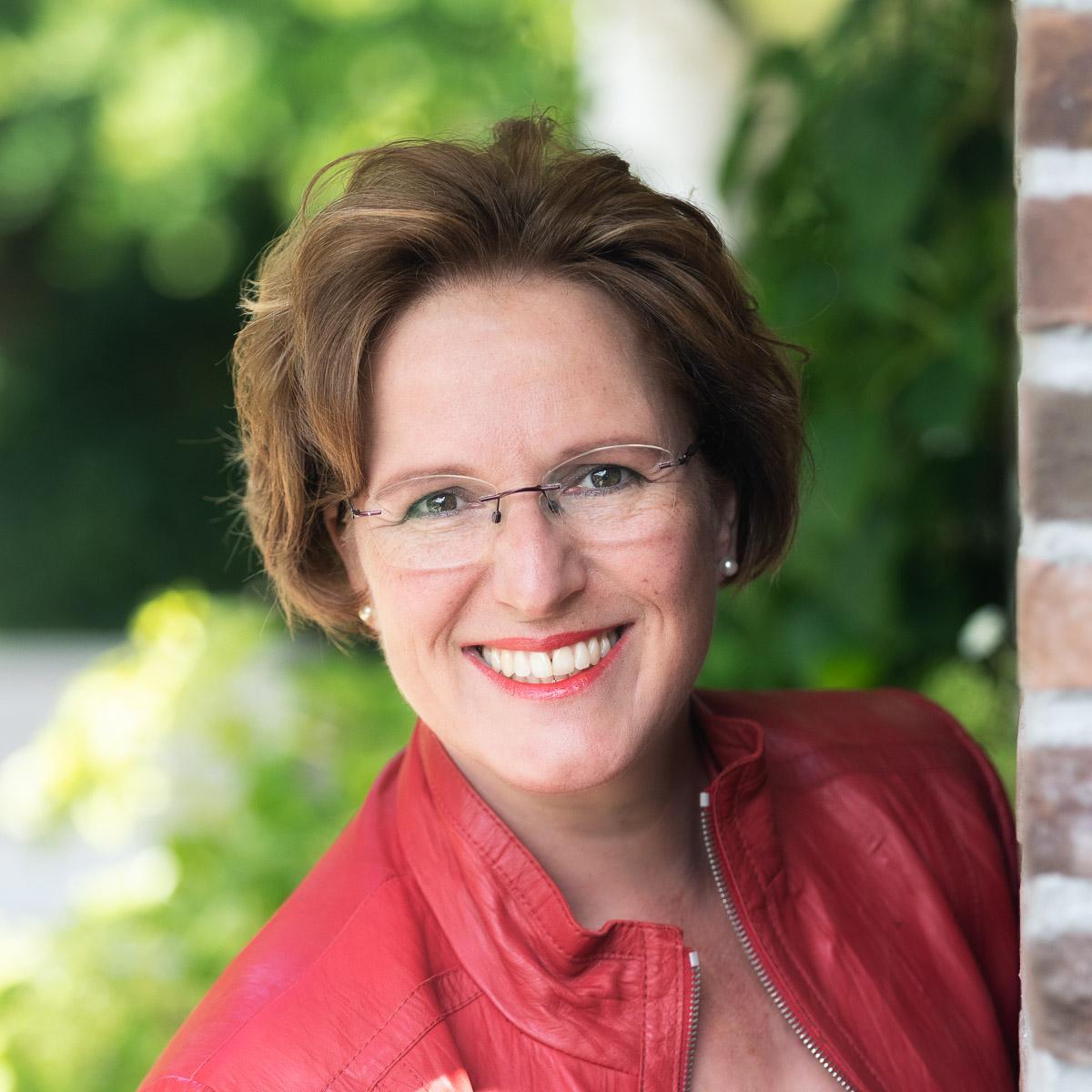 Portret van fotograaf Jolanda Kleij, van Kleij & Co Fotografie