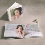 fotoalbum met foto- en acrylcover