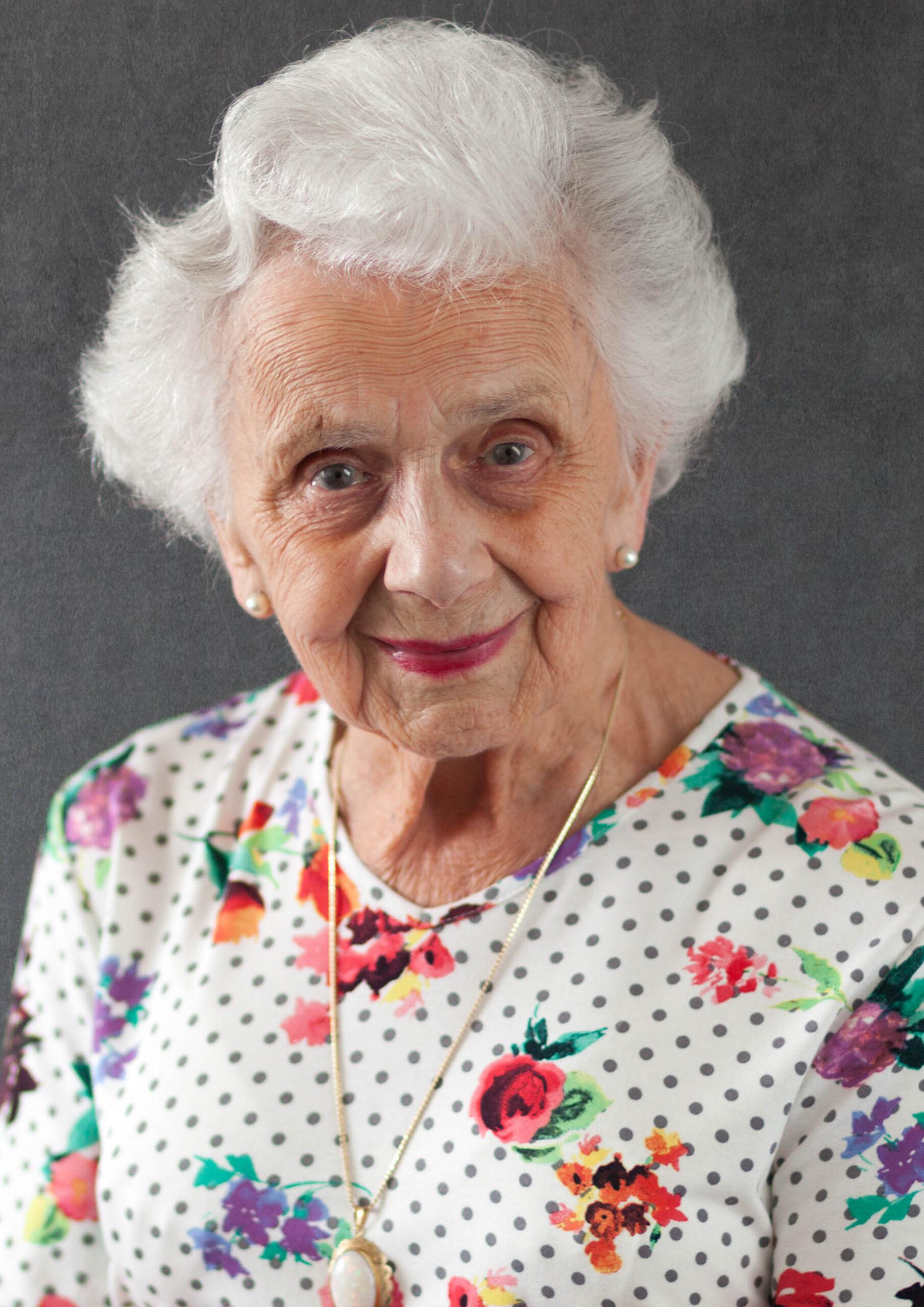 Een mooi portret van iemand die niet lang meer te leven heeft